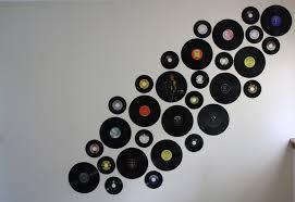 record wall decor record wall art