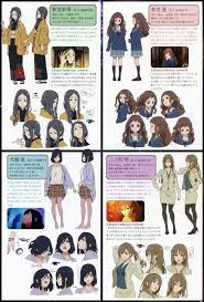 Kyoani Character Design Kyoukai No Kanata Beyond The Boundary Mobile Wallpaper