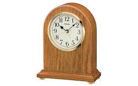 qxe031b wooden oak case mantel
