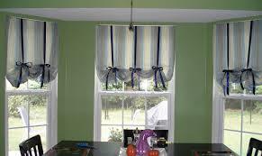 Fascinating Bay Window Curtain Styles Pics Decoration Ideas ...