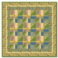 Magic Carpet Ride Wallhanging Quilt Kit by Homespun Hearth ... & Magic Carpet Ride Wallhanging Quilt Kit by Homespun Hearth Exclusive Design Adamdwight.com