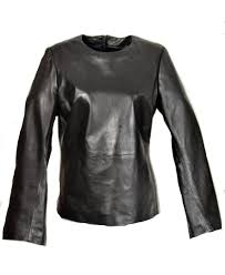 leather shirt leather pullover genuine leather for men