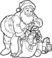 Small Picture Santa Claus Coloring Pages 3 Purple Kitty