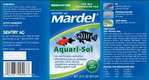 Mardel Fish Disease Chart Sentry Aq Mardel Aquari Sol Sergeants Pet Care Products