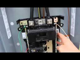 diy electrical service installation 200 amp main breaker diy electrical service installation 200 amp main breaker