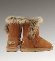 Ugg Fox Fur Short 5685 Boots