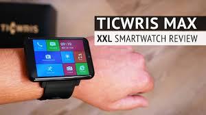 <b>Ticwris Max 4G</b>/LTE - Die GRÖßTE Smartwatch der WELT ...