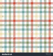 Checkered Design Seamless Four Colors Checkered Table Cloth Stock Vector 443476303