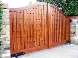 antique wooden fence gate designs