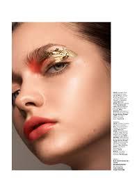 mac makeup cles in va beauty story with kati feofanova for l officiel singapore by stephan glathe mac