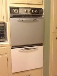 i painted my old wall oven i now have