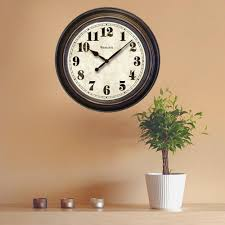 westclox 24 in round wall clock
