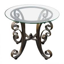 find the best decor ideas glass top end tables metal trend