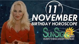 November 11 Zodiac Horoscope Birthday Personality Sunsignsorg