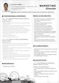 Creative Marketing Resume Templates Creative Director Resume Samples