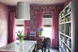 office drapes. Pink Drapes Office U
