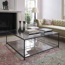 Large Ottoman Coffee Tables Square Glass Top Coffee Table Square