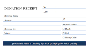 donation receipt forms 21 blank receipt template free samples examples format