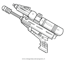 Nerf Gun Coloring Pages 8 Free Nerf Gun Printable Coloring Pages 07