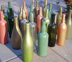 Ideas To Decorate Wine Bottles 100 Ways to Wow Your Friends with Recycled Wine Bottles 57