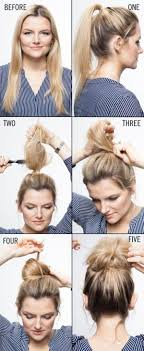 Easy Hairstyles On The Go 52 Best Images About Hairstyles On Pinterest Straighten Hair
