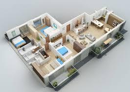 home design floor plans. Apartment Designs Shown With Rendered 3D Floor Plans Home Design F