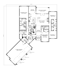 house plan 82242 european plan with 2716 sq ft , 4 bedrooms, 4 Floor Plans Hillside Home house plan 82242 european plan with 2716 sq ft , 4 bedrooms, hillside homes floor plans