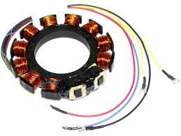 mercury marine model 402 40 hp flywheel ignition coil switch 174 5255
