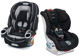 the available color choices on each model the dimensions of each car seat here the suitable uses of graco 4ever and britax boulevard