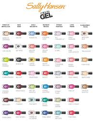 Sally Hansen Miracle Gel Swatches Oh Yes Indeed All 47