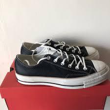 converse chuck taylor 70s black leather men s fashion footwear sneakers on carou
