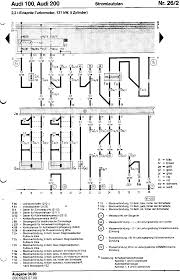 audi 100 200 factory wiring diagrams rpm and timing sensors idle wot switches coolant temperature sender