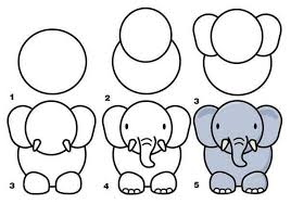 easy animals to draw step by step. Fine Step How To Draw Animals Art Drawing Parenting Animal 3d Intended Easy Animals To Draw Step By