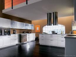 modern white kitchens with dark wood floors. Perfect Modern Intended Modern White Kitchens With Dark Wood Floors