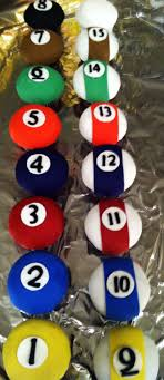 i had to keep referring to the google images of the pool tables to make sure i was putting the numbers on the correct