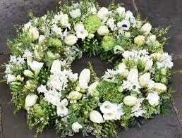 Funeral flowers wreath Kensington Flowers