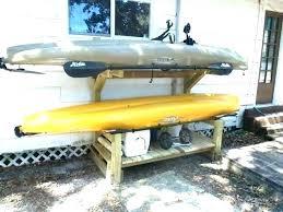 diy kayak rack kayak storage rack plans outdoor kayak rack canoe storage rack outdoor kayak storage