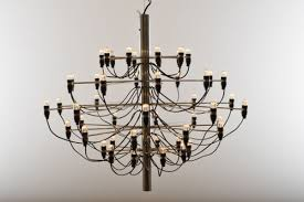 vintage model 2097 chandelier by gino sarfatti for flos 4