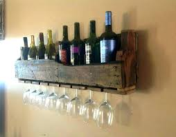 wine glass rack pottery barn. Wine Glass Shelf Wall Rack Image Of Floating Wood Pottery Barn R