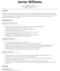 Resume For Hair Salon Free Resume Example And Writing Download
