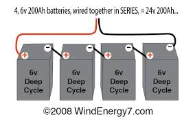 wiring multiple volt batteries together battery bank wiring  wiring multiple 6 volt batteries together battery bank wiring 4 batteries