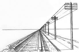 Линейная перспектива Как научиться рисовать Линейная перспектива Как научиться рисовать