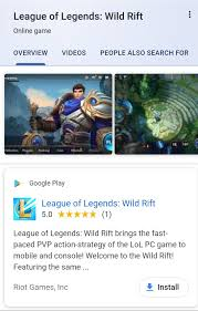Wild Rift now has 1 Download in the Play Store! : wildrift