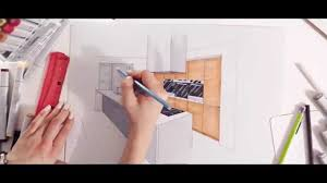 interior design kitchen drawings. Plain Interior Interior Design Kitchen Drawn By Hand TEMZA Construction Company In  London  YouTube For Design Drawings C