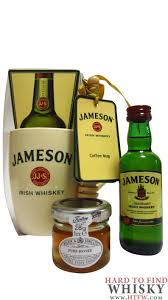 jameson hot toddy honey drizzler mug gift set 5cl 50ml 40
