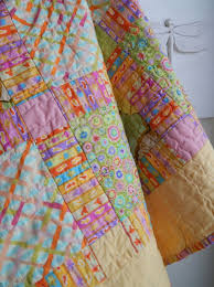 15 best Handmade Quilts for Sale. One of a Kind Handmade Quilted ... & Sunny yellow baby quilt featuring Kaffe Fassett fabrics. Handmade in NC.  Baby quilts for Adamdwight.com