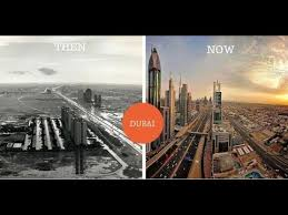 Dubai Before And After Dubai Incredible Before And After Pictures Of Famous Cities Youtube