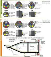 standard 4 pole trailer light wiring diagram automotive Trailer Light Wiring Harness at Trailer Light Harness Diagram