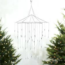 ornament chandelier crate barrel designs and