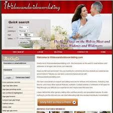 widow widowers dating website